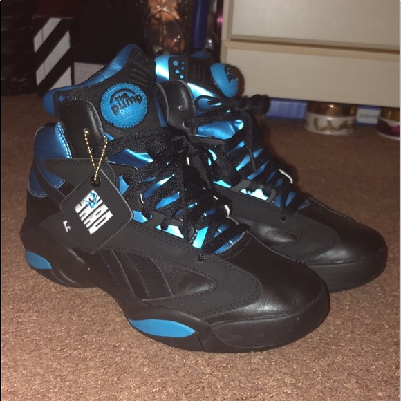"Reebok The Pump ""Shaq Attaq Azure Blue"" b6ab24f4e"